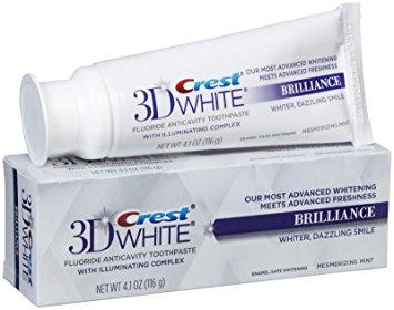 Crest 3D White Brilliance pasta do zębów - pasta do wybielania zębów