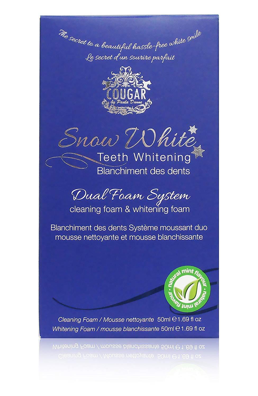 Naturalna pasta do wybielania zębów - pianka do wybielania zębów