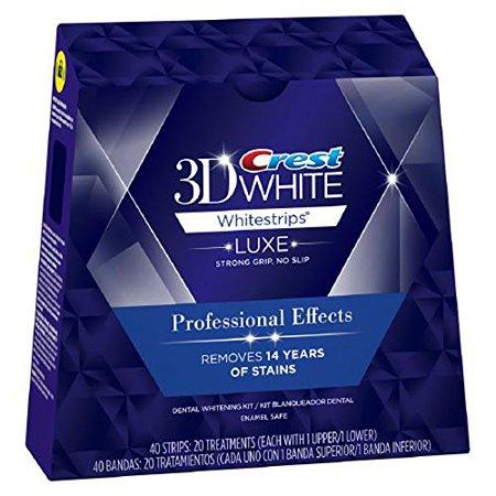 crest professional effects paski wybielające - crest whitestrips