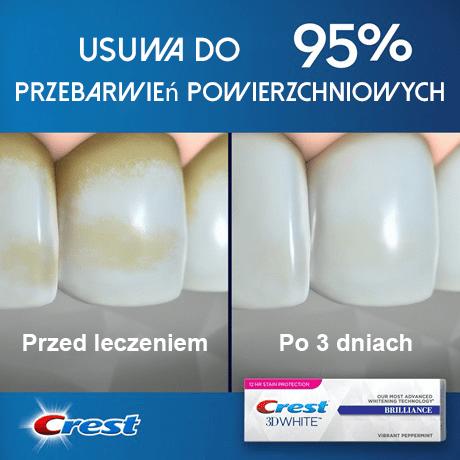 Crest Brilliance pasta do zębów - pasta do wybielania zębów